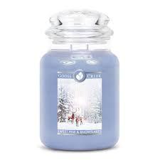 Sweet Pine & Snowflake Large Jar Candle candle