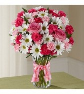 Sweet Pink Fresh Arrangement