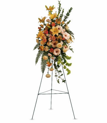 Sweet Remembrance Spray Standing Easel