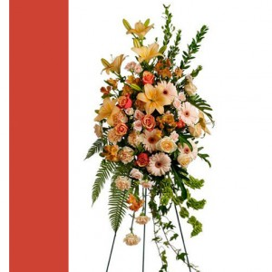 Sweet Remembrance Spray Standing Spray in Langford, BC | PETALS N BUDS METCHOSIN FLORIST