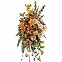 SWEET REMEMBRANCE  Standing Funeral Flowers