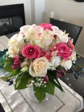 sweet romance bridal bouquet