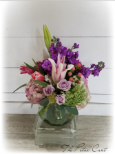 Sweet Romance Vase Arrangement