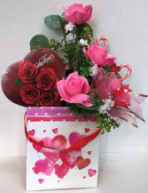 Sweet Rose Bouquet Available in Fresh or Silk