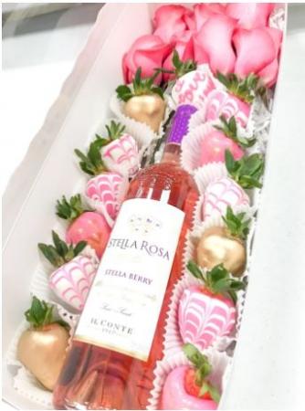 SWEET ROSE BOX - Pink Rose Gift Box