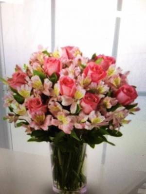 Sweet Roses & Alstroemerias  in Seabrook, TX | SEABROOK HOUSE OF FLOWERS
