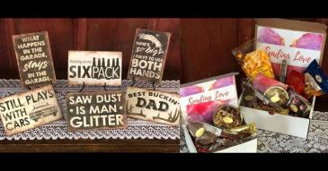 Sweet & Salty Mans Box Gift Boxes