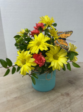 Sweet Scent with Butterfly Arrangement