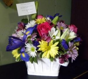 Sweet Sentiments Basket Arrangement in Sutton, WV | COUNTRY CHARM FLORAL
