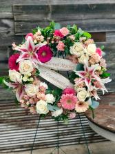 Sweet Sentiments Wreath