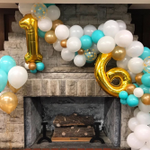 Sweet Sixteen Balloons  Balloon Garland