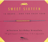 Sweet Sixteen Bracelet Lucky Feather Birthday Collection
