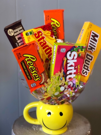 Sweet Smiles  Candy Bouquet