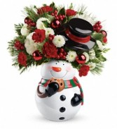 Sweet Snowman Bouquet Christmas