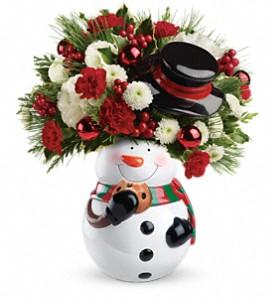 Sweet Snowman Bouquet Christmas