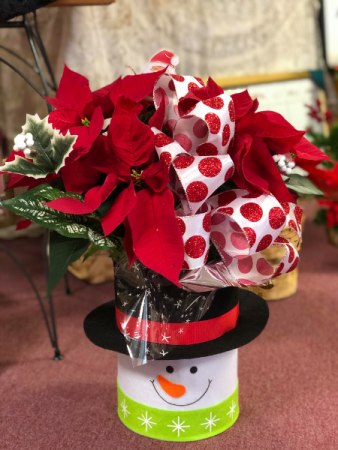 Sweet Snowman Poinsettia