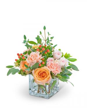 Sweet Sorbet Flower Arrangement in Nevada, IA | Flower Bed