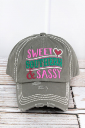 Sweet Southern & Sassy Hat
