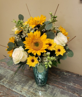 """Southern Sunshine!"" Vased Arrangement"