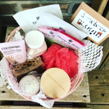Sweet Spa Basket