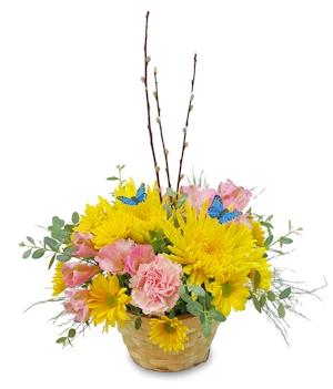 Sweet Spring Basket Basket