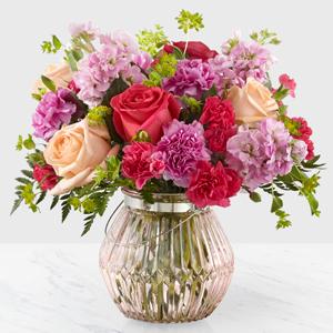 Sweet Spring Designer Vase Arrangement