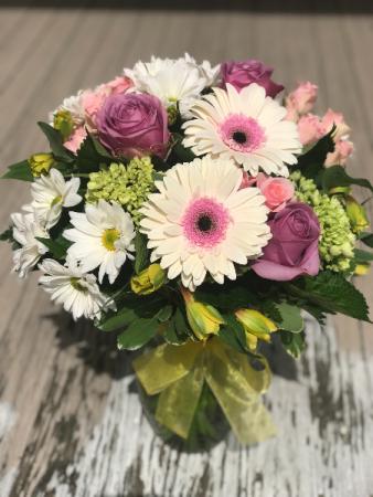 Sweet Spring Fresh Flowers In A Vase In Thibodaux La Beautiful