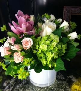 Sweet Spring Petals Vase in Bethel, CT   BETHEL FLOWER MARKET OF STONY HILL