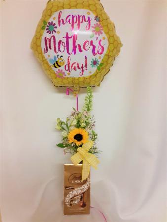 Sweet Spring Trifecta  Floral Arrangement