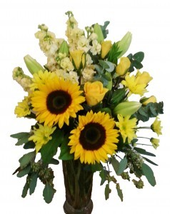 Sweet Sunshine Flower Arrangement in Riverside, CA | Willow Branch Florist of Riverside