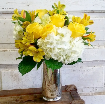 Sweet Sunshine Vase Arrangement