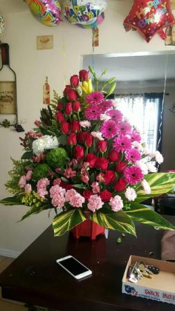 sweet surprise arrangement