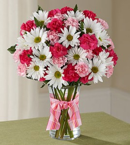 Sweet Surprise Bouquet Vased Arrangement