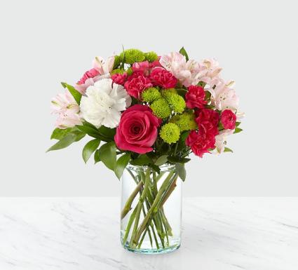 Sweet surprise  Fresh arrangement in a vase