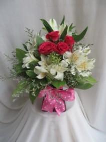 Sweet Surprise Fresh Vased Arrangement
