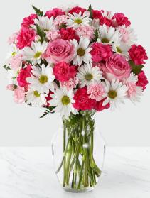 Sweet Surprises Bouquet Vase
