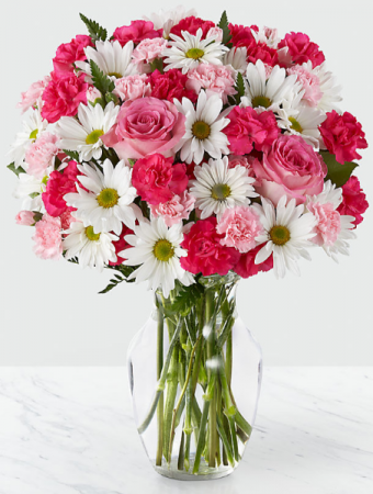 Sweet Surprises Bouquet Vase