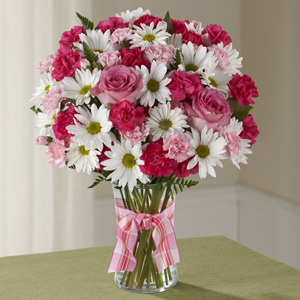 Sweet Surprises Bouquet Vased Arrangement