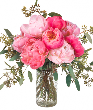 SWEET  SYMPHONY  PEONIES BOUQUET