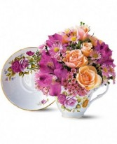 SWEET TEA CUP Bouquet