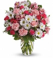 Sweet Tenderness vase arrangement