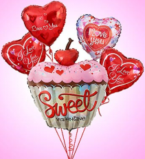 Sweet Thang Valentine Balloon Bouquet