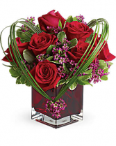 Sweet Thoughts Bouquet Cube Teleflora