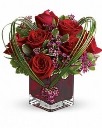 Sweet Thoughts Bouquet with Red Roses ---