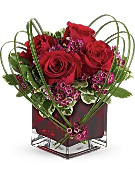 Sweet Thoughts Bouquet with Red Roses Bouquet