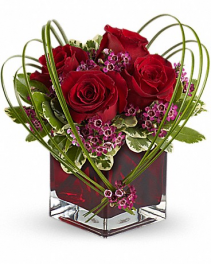 Sweet Thoughts Bouquet with Red Roses (TEV13-7A)