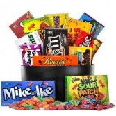 Sweet Tooth Candy Basket Gift Basket