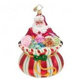 Sweet Tooth Santa (RETIRED) Christopher Radko Ornament