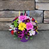 Sweet Treat - Purple Birthday Arrangement