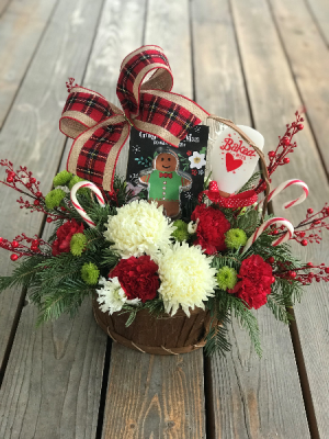 Sweet Treats Basket Arrangement   in Libby, MT | LIBBY FLORAL & GIFT